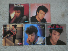 5 x' 7' single collection paul young Everything Must Change come back and stay