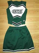 Girls  Boutique COLTS Authentic Cheerleader Uniform Youth Small Medium 30/24 6-8