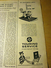 PUBBLICITA' ADVERTISING WERBUNG 1961 BUSTA ITINERARIO BP (E560)