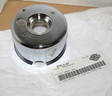 HARLEY SPEEDOMETER CAN COVER CHROME OEM 67014-87 FITS FXLR 1987-1990 NOS