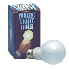 PUSH BUTTON MAGIC LIGHT BULB! Halloween Uncle Fester!  Lights In Mouth!!