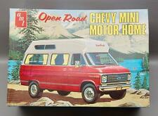 AMT OPEN ROAD CHEVY MINI MOTOR HOME 1/25 MODEL KIT UNBUILT IN BOX #T517-300