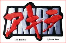"Akira Embroidered Japanese Anime Emo punk Scifi Iron on 3*2"" Patch"