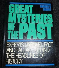 brand new hard back book Great mysteries of the past.