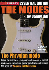 LICK LIBRARY THE MODES LEARN PHRYGIAN MODE Yngwie Malmsteen DVD GUITAR RDR0388