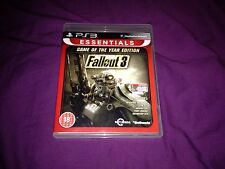 FALLOUT 3 GAME OF THE YEAR EDITION FOR SONY PS3