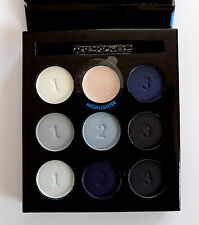 Collection Work The Colour Blue Eye Eyeshadow Palette Pale Grey Dark Navy Pink