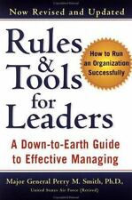 Rules and Tools for Leaders (Revised) Smith, Perry M. Paperback