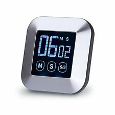 Digital Touchscreen Kitchen Timer Cooking Timer with Loud Alarm,Count Down and