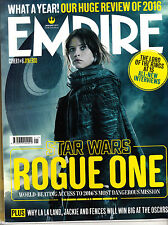 EMPIRE 1/2017 Star Wars ROGUE ONE Cvr #1 FELICITY JONES as JYN ERSO +Poster @NEW