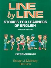 Line by Line Intermediate: Stories for Learners of English-ExLibrary