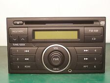 NISSAN VERSA FRONTIER XTERRA RADIO CD PLAYER WITH AUX INPUT PN-2871L CY40D