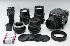 Mamiya RZ67 Pro II w/ 90, 110, 180, 250mm, Extension tube 45mm, Grip Excellent++