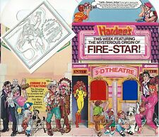 FIRESTAR GIVEAWAY PROMO HARDEES 3D THEATER MINI COMIC & BOX NM PROMOTIONAL