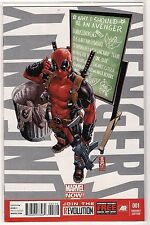 Uncanny Avengers #1 Deadpool 'Call Me Maybe' Variant Cover MARVEL NOW