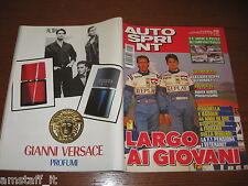 AUTOSPRINT 1994/49=COVER GIANCARLO FISICHELLA LUCA BADOER=