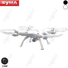 Syma X5SC-1 6-axis 4CH 360° Flips 2.4GHz RC Quadcopter with 2MP Camera Head-DRON