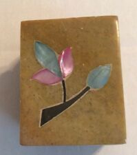 Made In India Flower Trinket Box