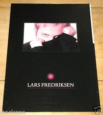 LARS A FREDRIKSEN ~ EUROVISION SONG CONTEST PROMOTIONAL PROMO PRESS PACK 1998