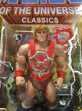Masters of the Universe Classics Thunder Punch He-Man w/ Comic MOSC - New! MOTUC