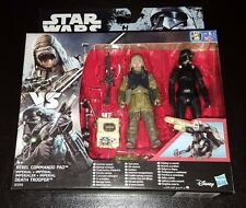 STAR WARS REBEL COMMANDO PAO + IMPERIAL DEATH TROOPER ACTION FIGURE 2 PK NEW