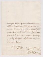 Verceil Italie Crescentino 1704. Lettre sur les Prisonniers & Dames des Couvents