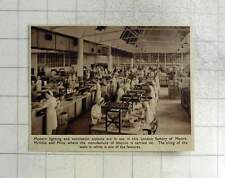 1940 Biscuits Being Made London Factory Mcvitie And Price
