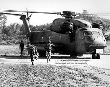 """HH-53C Helicopter rescue mission Merchant Ship Mayaquez 8""""x 10"""" Vietnam Photo 96"""