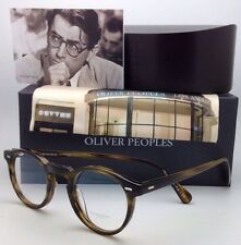 OLIVER PEOPLES Eyeglasses GREGORY PECK OV 5186 1211 45-23 Round Moss Tortoise