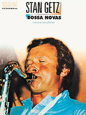 Stan Getz Bossa Novas For Tenor Saxophone Learn to Play Sax Sheet Music Book