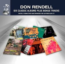 Don Rendell SIX (6) CLASSIC ALBUMS + BONUS SONGS Presents PLAYTIME New 4 CD