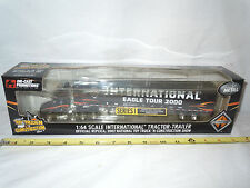 International Eagle Tour 2000 Semi With Van Trailer  2002 NTTCS Edition  By DCP