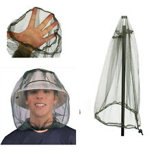 Bug Mosquito Net Mesh Hat Face Midge Travel Protector Insect Camping Head