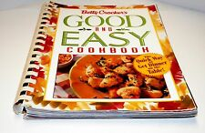 Books, Betty Crocker's Good and Easy Cookbook, recipes