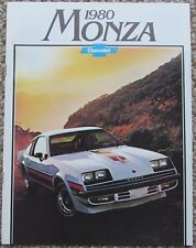 1980 Chevy Monza 2 + 2 Sport Hatchback Coupe with Spyder Package Dealer Sales Br