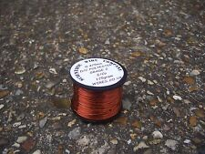 30 AWG - 0.25mm - ENAMELLED COPPER WINDING WIRE,high temp enamel WIRE - 125grams