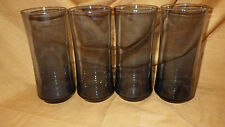 Cobalt Blue Libbey Ice Tea Glasses tumblers drinking glasses 4 16 ounce