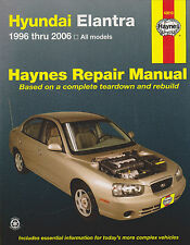 1996-2006 Haynes Hyundai Elantra Repair Manual