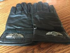 Harley Davidson Womens 100th Anniversary XL Leather Gloves NWOT