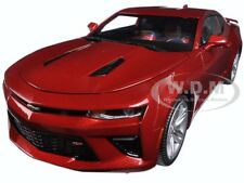 2016 CHEVROLET CAMARO SS GARNET RED LTD 1002PCS 1/18 CAR BY AUTOWORLD AW230