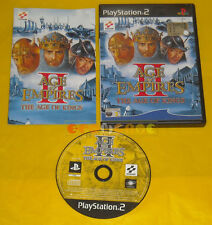 AGE OF EMPIRES II THE AGES OF KINGS 2 Ps2 Versione Italiana 1ª Ediz »»» COMPLETO