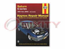Saturn SC2 Haynes Repair Manual Base Shop Service Garage Book gj