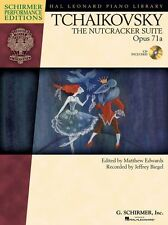 Tchaikovsky The Nutcracker Suite Op.71a Learn to Play Piano Music Book & CD
