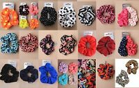 SCRUCHIES, HAIR ACCESSORY, ELASTIC, BOBBLE, SCRUNCHY, GIRLS, LADIES, HAIR TIE