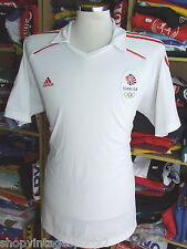 Polo Shirt Team GB Great Britain Olympics 2012 (XL White Adidas Athletics Jersey