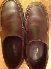 EASTLAND Shoes Size 8m Brown Leather Loafers Slip Ons Women