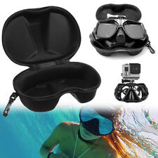 Diving Snorkel Scuba Glasses Case Protector Container for GoPro 3 4 Swim Tools