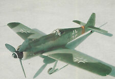 1/6 Scale Focke Wulf FW 190 D-9  Plans, Templates & Instructions