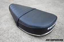 HONDA CHALY 50 70 CF50 CF70 Complete Double Seat + Chrome Trim / High Quality