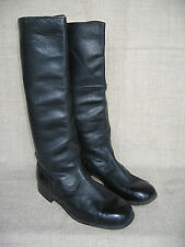 WWII Soviet Army Officer's Thin Leather High Boots. SIZE 8
